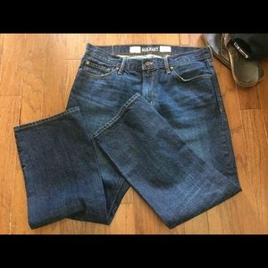 Old Navy men's dark wash jeans